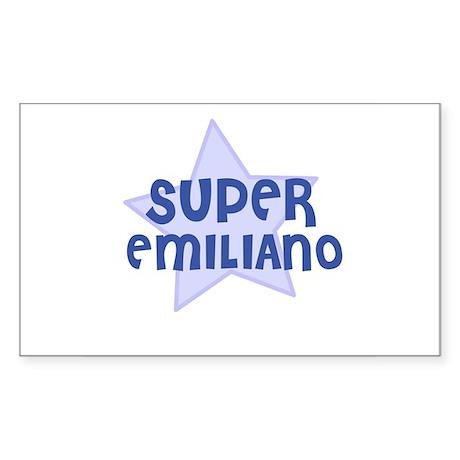 Super Emiliano Rectangle Sticker