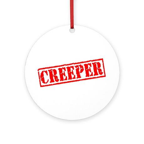Creeper Ornament (Round)