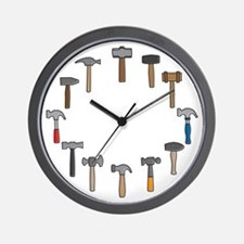 Hammer Time Wall Clock