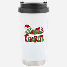 Santa's Favorite Travel Mug