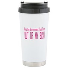 Keep The Government Task Force Out Travel Mug