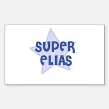 Super Elias Rectangle Decal