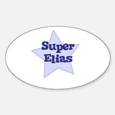 Super Elias Oval Decal