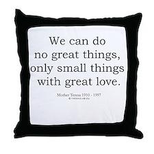 Mother Teresa 8 Throw Pillow