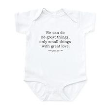 Mother Teresa 8 Infant Bodysuit