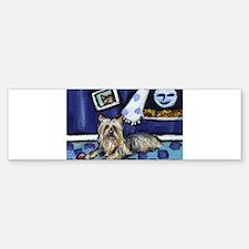 SILKY Terrier art items Bumper Bumper Bumper Sticker