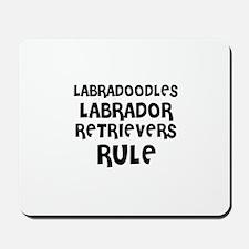 LABRADOODLES LABRADOR RETRIEV Mousepad