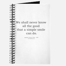 Mother Teresa 9 Journal