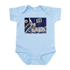 Skye Terrier items Infant Creeper