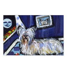 Skye Terrier items Postcards (Package of 8)