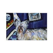 Skye Terrier items Rectangle Magnet