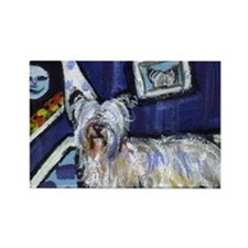 Skye Terrier items Rectangle Magnet (100 pack)