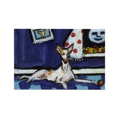 IBIZAN HOUND art Rectangle Magnet