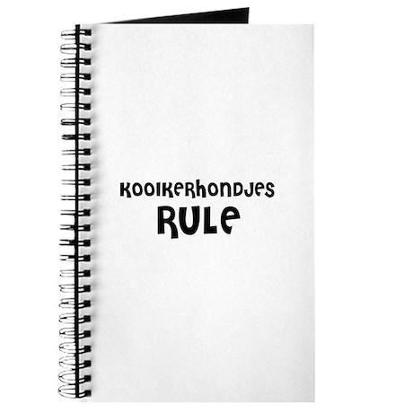KOOIKERHONDJES RULE Journal