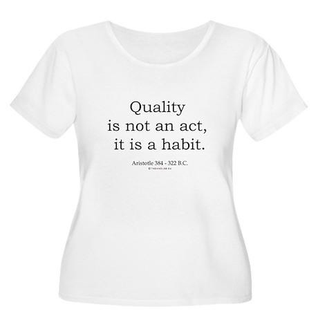 Aristotle 3 Women's Plus Size Scoop Neck T-Shirt