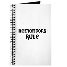 KOMONDORS RULE Journal