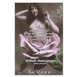 Shakespeare Quote Name Rose Large Poster