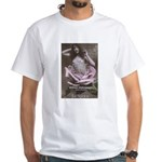 Shakespeare Quote Name Rose White T-Shirt
