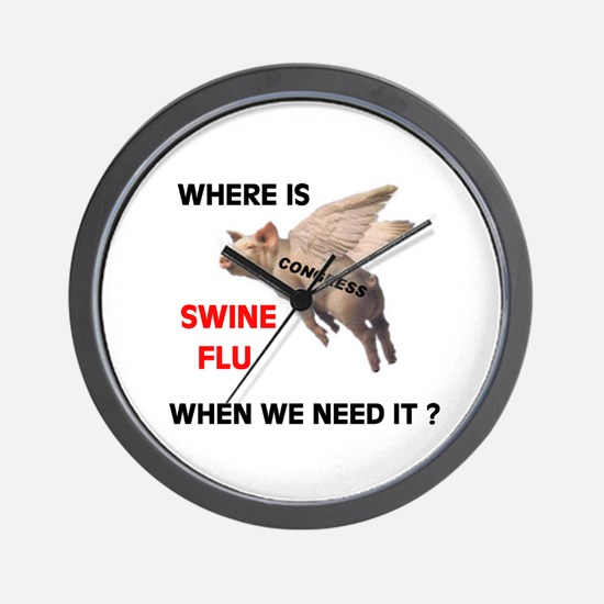 WE'RE SICK OF THEM ALL Wall Clock