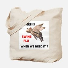 WE'RE SICK OF THEM ALL Tote Bag