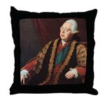 Frederick Lord North. Throw Pillow