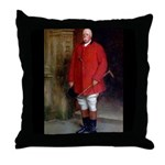 William, the 11th Baron North. Throw Pillow