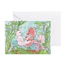 Underwater Dance Greeting Card