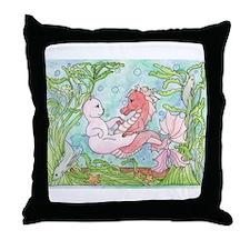 Underwater Dance Throw Pillow