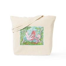 Underwater Dance Tote Bag