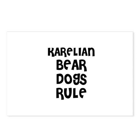 KARELIAN BEAR DOGS RULE Postcards (Package of 8)