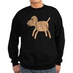 Dog design Sweatshirt (dark)