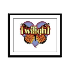 Twilight Magic Monarch Butterfly Framed Panel Prin