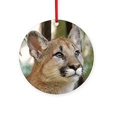 Cougar Cub 5 Ornament (Round)
