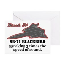 SR-71 Blackbird Greeting Cards (Pk of 10)