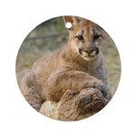Cougar Cub 4 Ornament (Round)