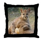 Cougar Cub 4 Throw Pillow