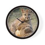 Cougar Cub 4 Wall Clock