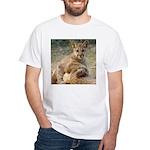 Cougar Cub 4 White T-Shirt