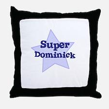 Super Dominick Throw Pillow