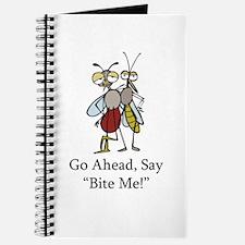 Mosquito Bite Me Journal