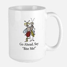 Mosquito Bite Me Large Mug