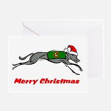Greyhound Noel Holiday Card (single)