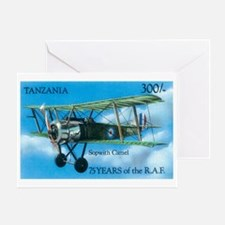 SopWith Camel Greeting Card