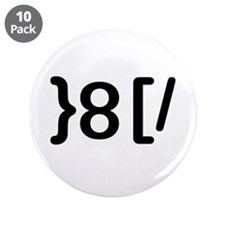 """GROUCHOticon 3.5"""" Button (10 pack)"""