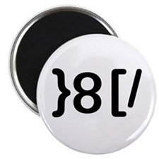 """GROUCHOticon 2.25"""" Magnet (10 pack)"""
