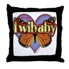 Twilight Twibaby Magic Butterfly Throw Pillow