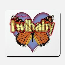 Twilight Twibaby Magic Butterfly Mousepad