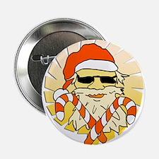 "Tropical Santa Claus 2.25"" Button"