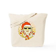 Tropical Santa Claus Tote Bag