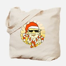 Tropical Santa Claus Tote Bag